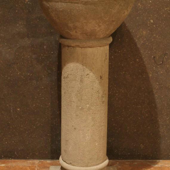 Classificació Genèrica: Escultura Matèria: Pedra Data Execució: 1900-1950