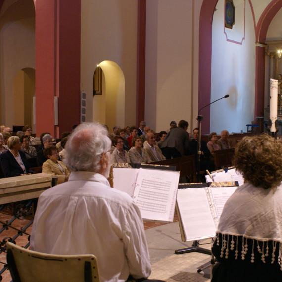 Inauguració pintura església_concert